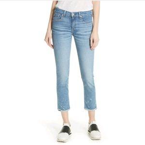 NEW Rag & Bone The Dre Ankle Slim Boyfriend jeans